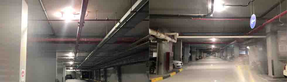PARKING GARAGE LED LIGHTING DUBAI