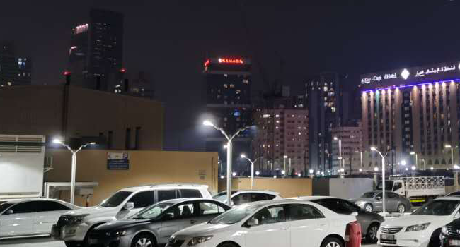 led parking lots lights