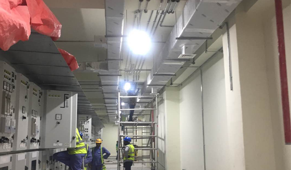 retrofit highbay lighting to led